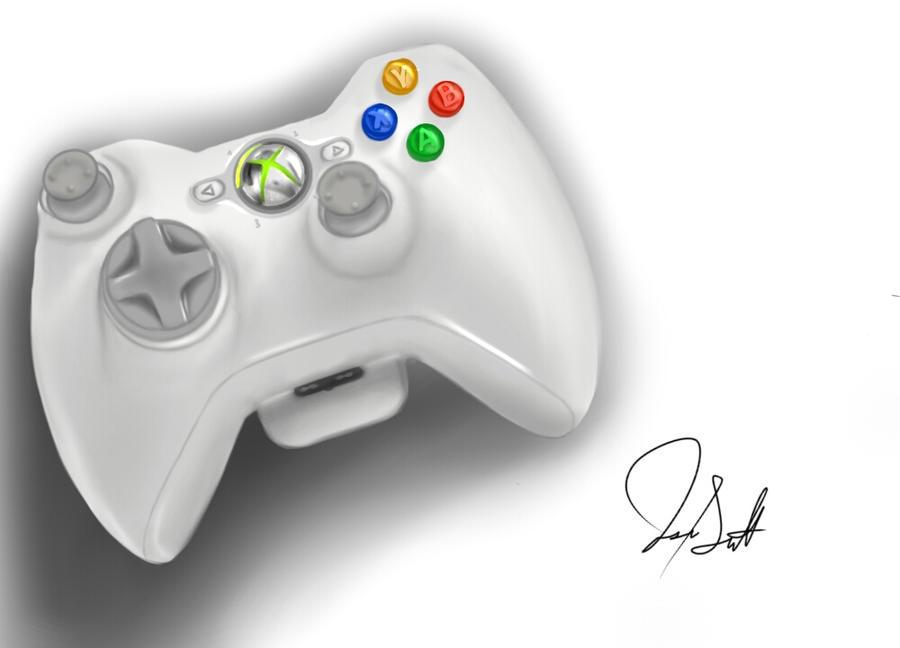xbox 360 controller sketch - photo #39