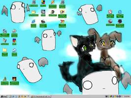Floaty Desktop by tranquillitystar