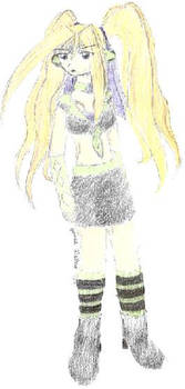 Random Coloured Drawing
