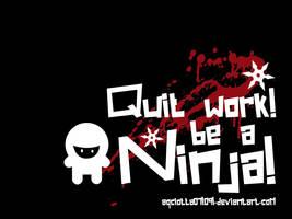 Be a Ninja by AqCLotta071091