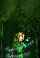 Link and Navi by Clopina