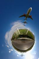 Planet Landing Strip by immauss