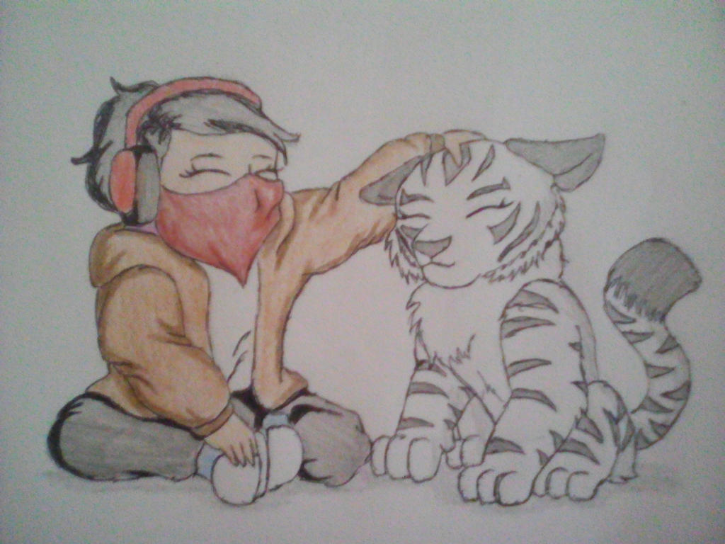 Renee and Winter (Ren Wintertigress' backstory) by xXShadowTiger20Xx