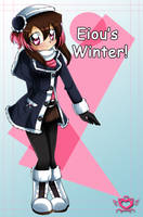 Eiou Winter Wear :3 by AnzuAngel