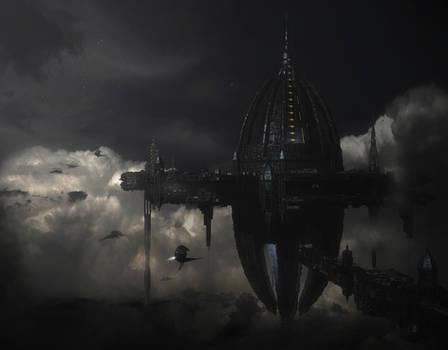Gothic metal city