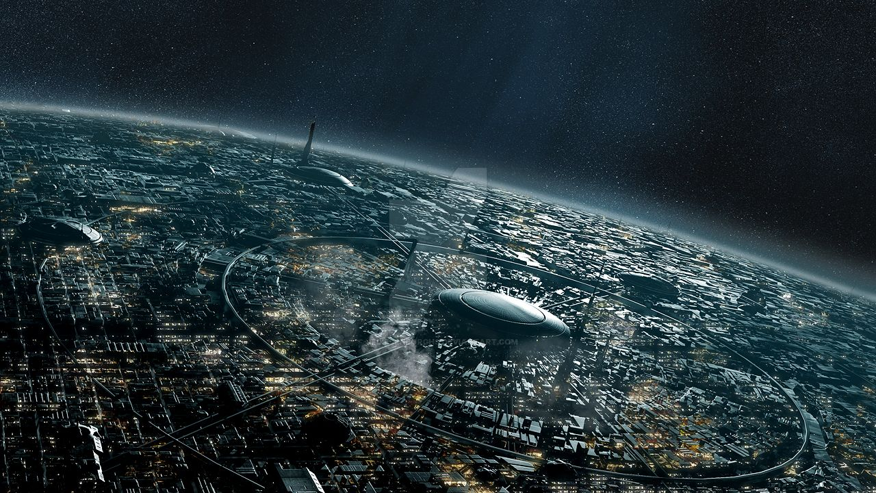 sci fi cities on other planets - photo #38