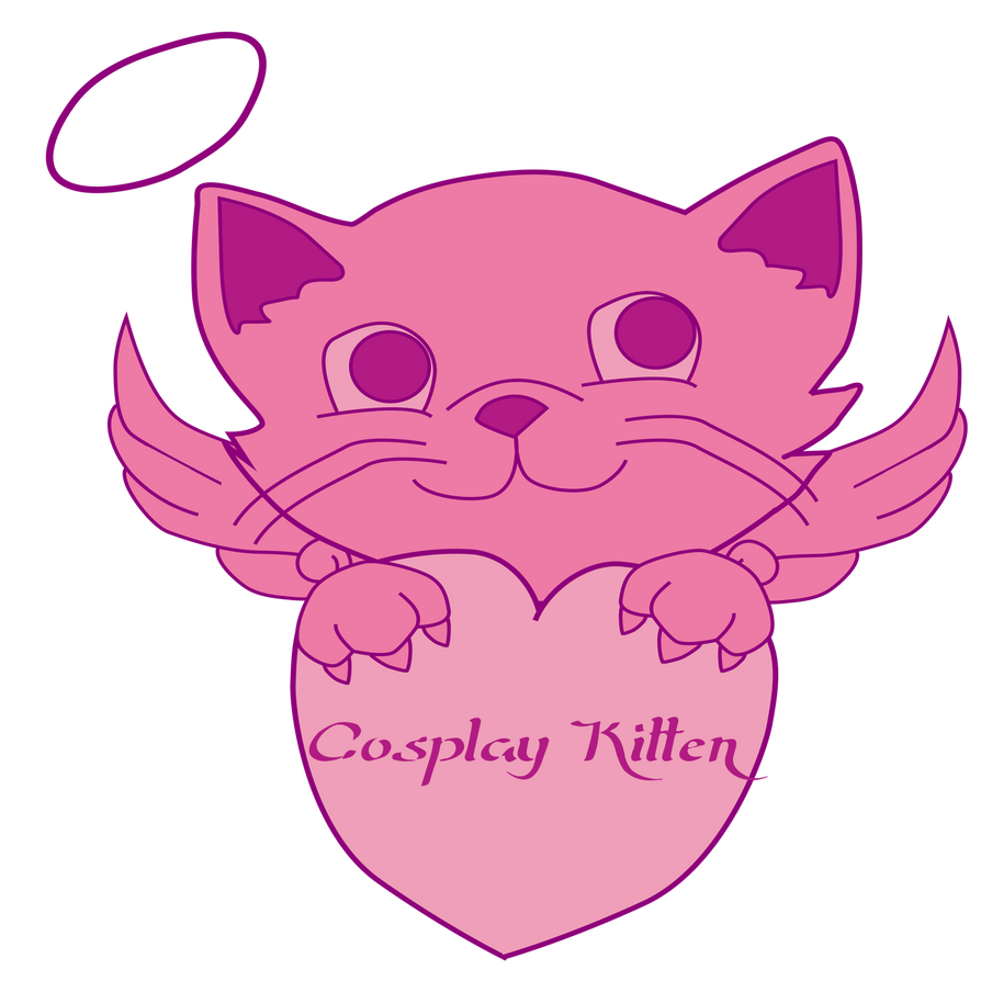 Cosplay Kitten Logo by MysticDragon900