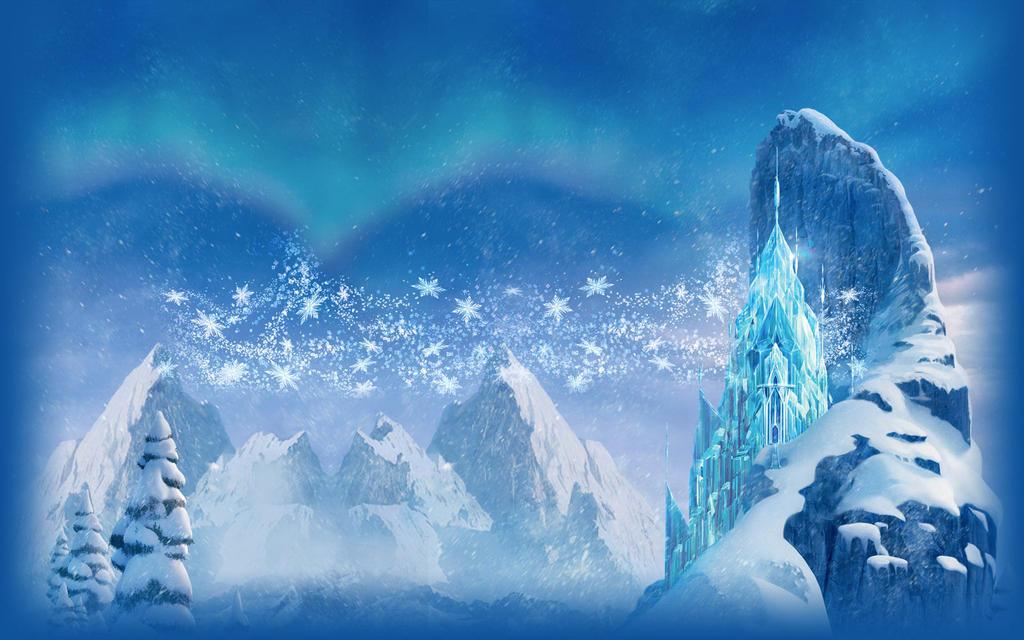 frozen castle wallpaper hd many hd wallpaper