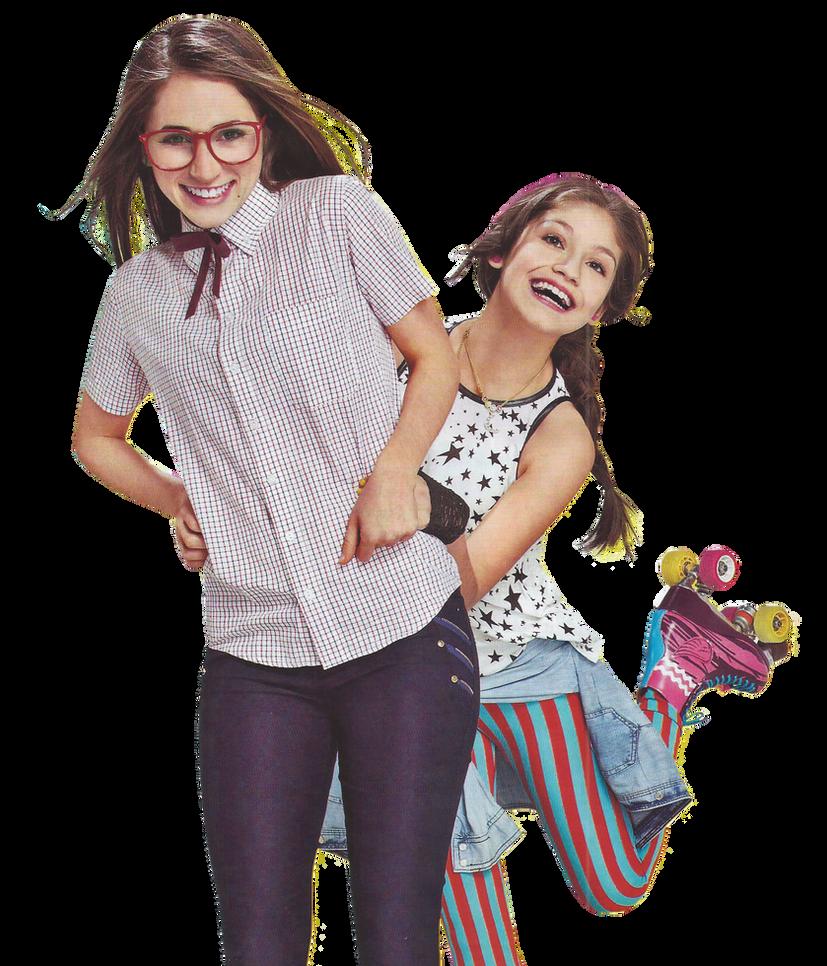 PNG | Nina y Luna | Soy Luna | Carolina y Karol by
