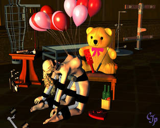 Valentines day at the study by clay3570