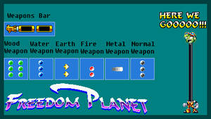 Freedom Planet - Torque's Beta Weapons! by GensokyoZXRedAce