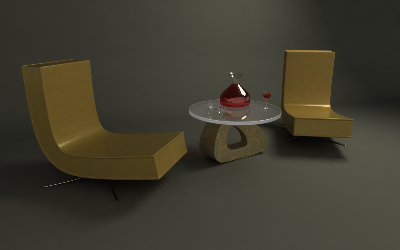 Chair scene by Zyxakarene