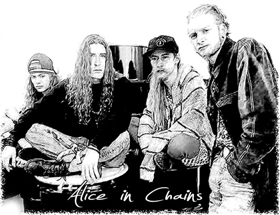 alice in chains by idrawsky