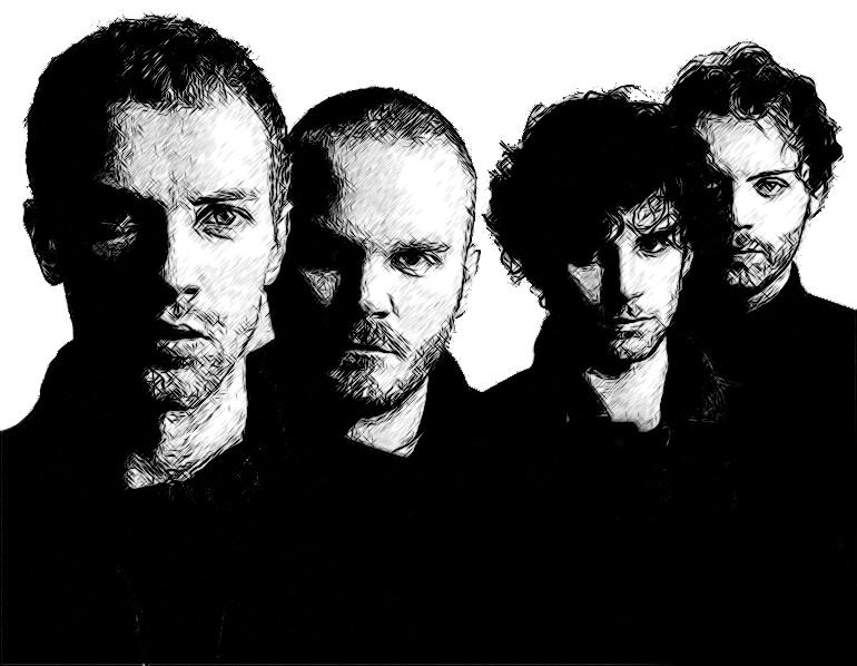Coldplay by idrawsky