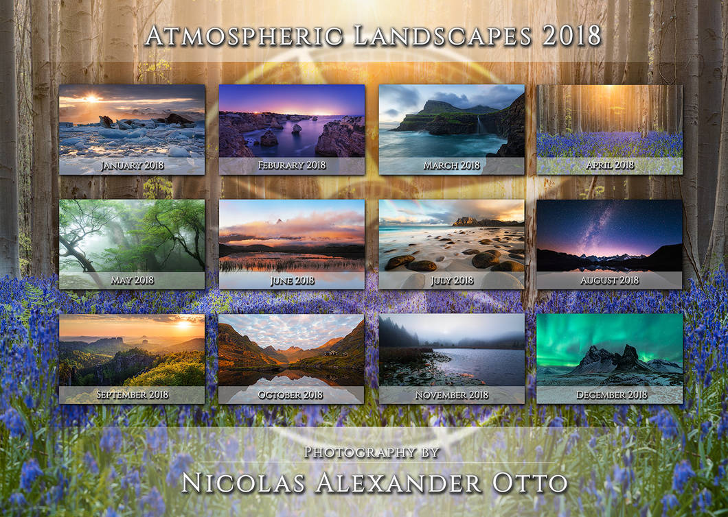 Atmospheric Landscapes 2018 by NicolasAlexanderOtto