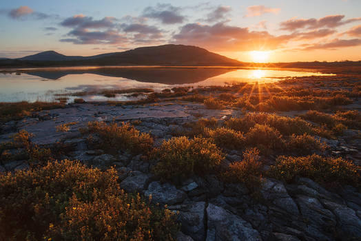 A Sunrise in the Burrens