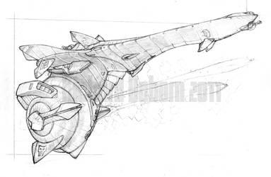 Razor Gunboat by Richard-Daborn