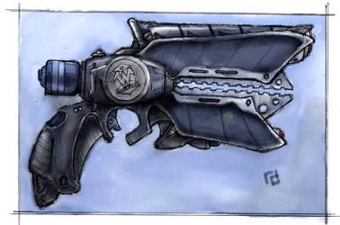 Warlock Sidearm Final Version by Richard-Daborn