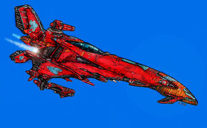 Queen of Hearts: Starfighter by Richard-Daborn