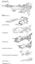 Starship Size Comparison Chart by Richard-Daborn