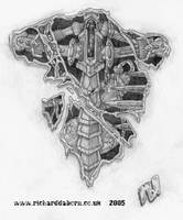 Tattoo Design: Endo-Skeleton by Richard-Daborn