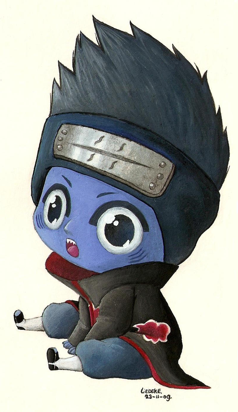 kisame chibi by Liedeke on DeviantArt