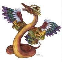 dragon...thingy... by Liedeke