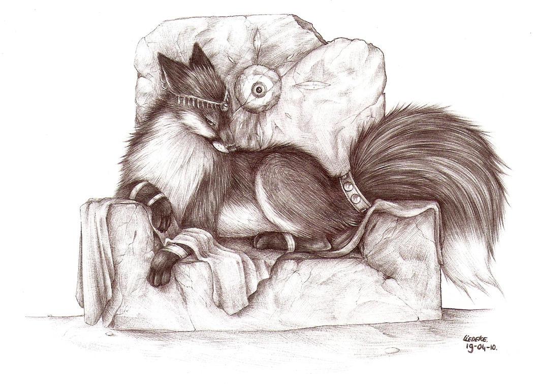 on my throne by Liedeke