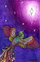 flying by Liedeke