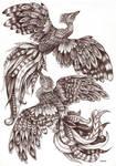 school project. phoenix. pen