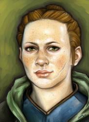 Scout Harding by Liedeke