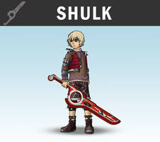 SSB4 - Shulk by Antonator