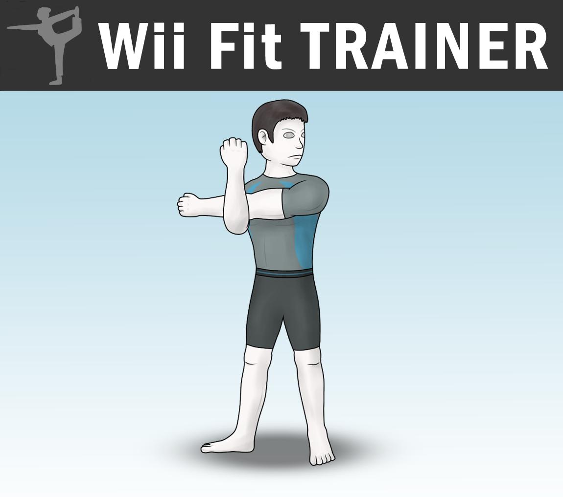 SSB4 - Wii Fit Trainer (Male) by Antonator on DeviantArt