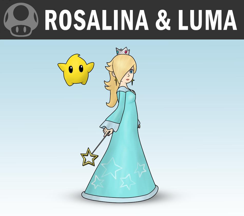 how to play rosalina and luma ssb4