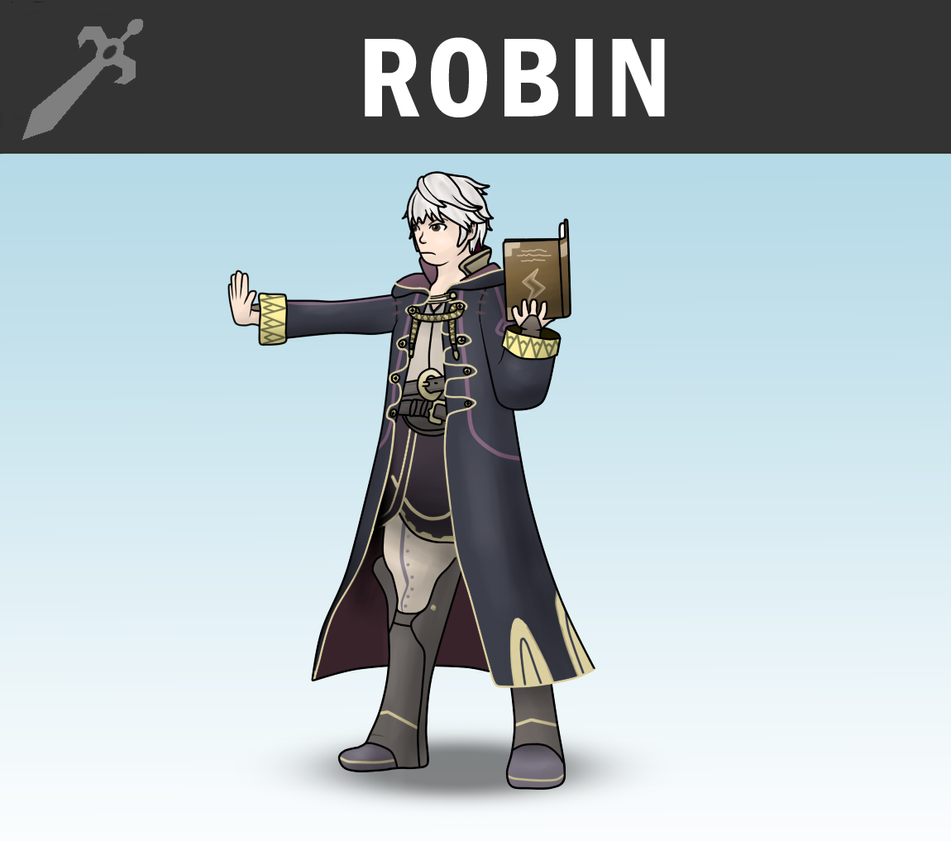 SSB4 - Robin (Male) by Antonator on DeviantArt