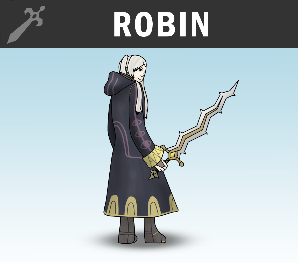 SSB4 - Robin (Female) by Antonator on DeviantArt