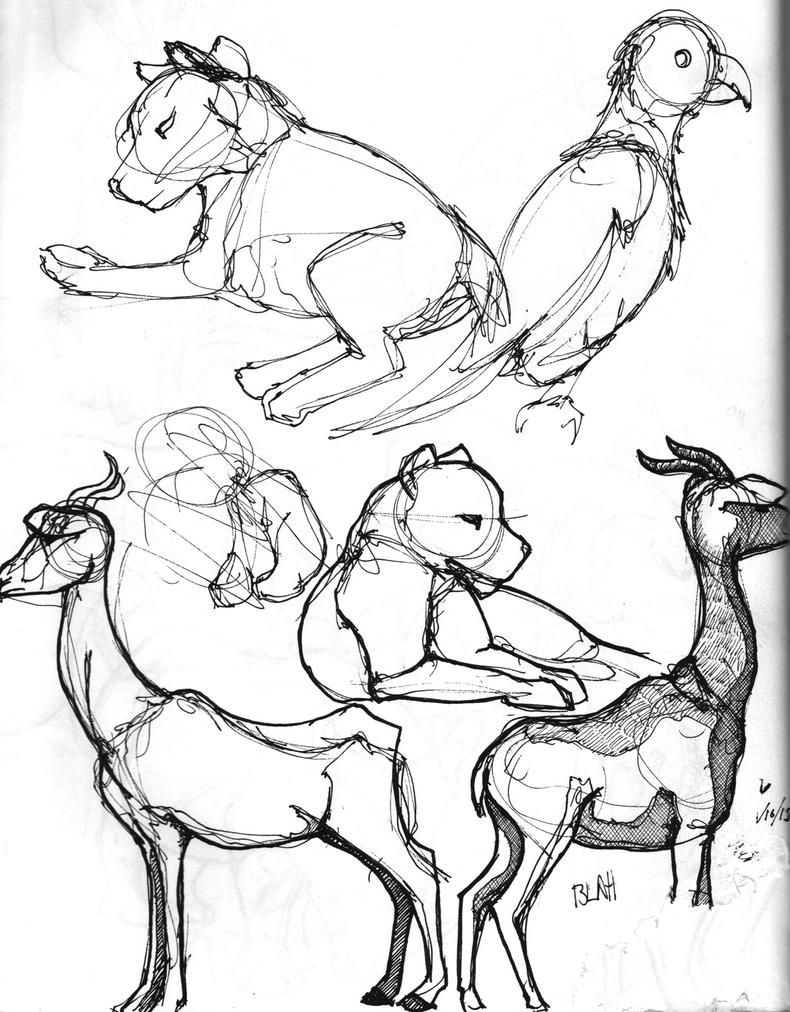 Zoo Sketchbook - 28 by subtlePixel