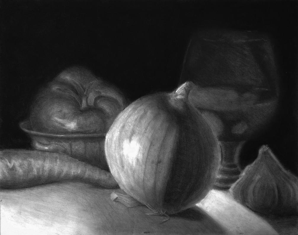 Veggie Table by subtlePixel