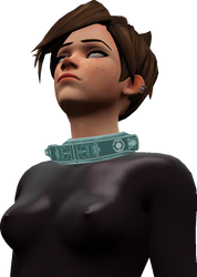 Overwatch - Tracer Doll Render 1 by CountTracula