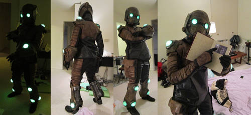Myst Uru Maintainer Suit First Fitting by KeeperofAges