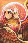 Spirit of the Forest: Fantasy Owl