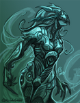 'Fluidity' Armor WIP