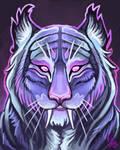 Fantasy Tiger Portrait