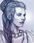 Princess Leia- Carrie Fisher Tribute