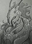 Urdaaz: Emissary of the Ijj- Sketch