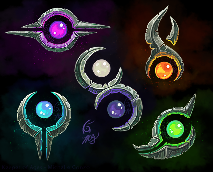 Magic Symbols Of Clyssus By Keeperofages On Deviantart
