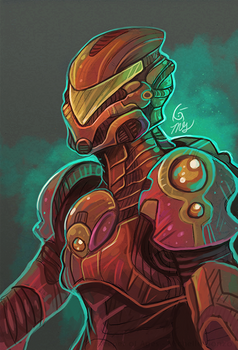 Sentinel Armor Speedpaint