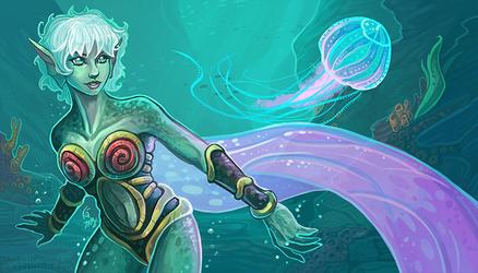 Naija- Voice of Aquaria by KeeperofAges