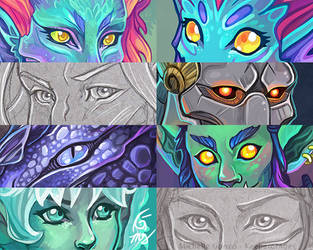 Keeper of Ages' Eye Meme Compilation by KeeperofAges