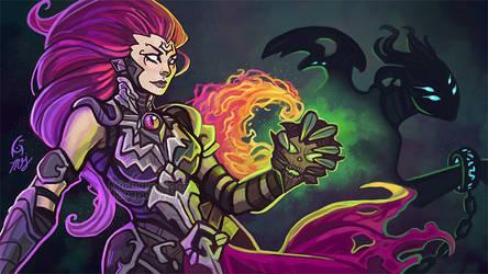 Darksiders III - Fury - Collector of Sin by KeeperofAges